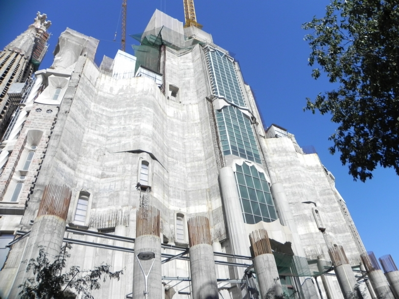 Exterior de la Sagrada Familia: la fachada de la Gloria