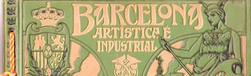 Portada del libro, Barcelona Artística e Industrial