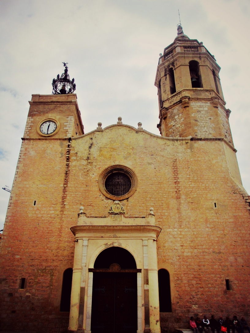 Kirche in Sitges