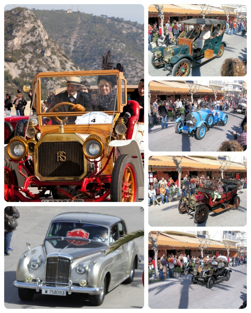 Antique Car Rally Barcelona