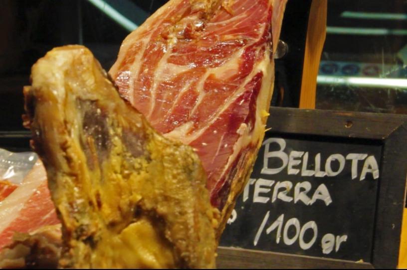Acorn-fed Ham