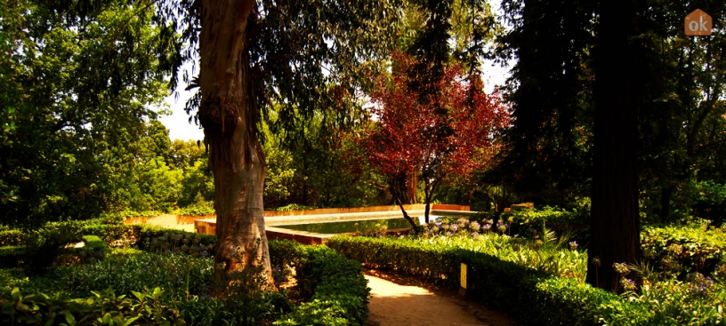 Giardino del parco del Laberinto