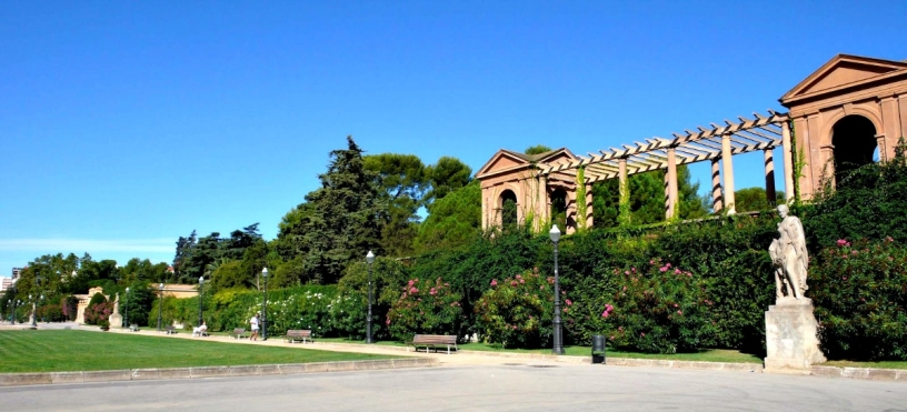 Сады Педральбеса Барселона