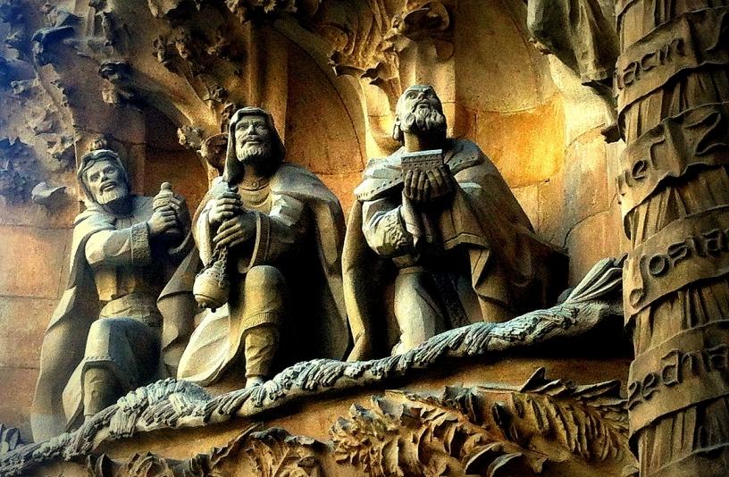 Les Rois Mages de la Sagrada Familia