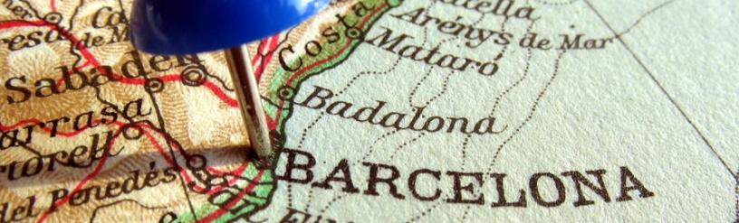 Stadkarte Barcelona