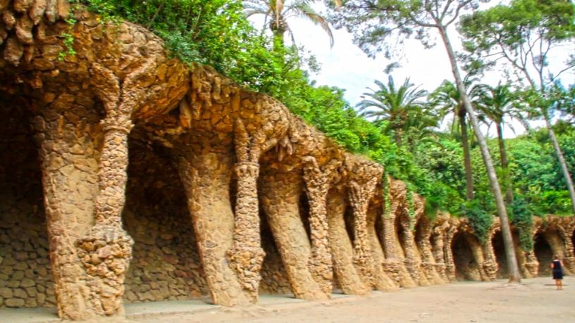 Il parco si mimetizza con l'ambiente naturale