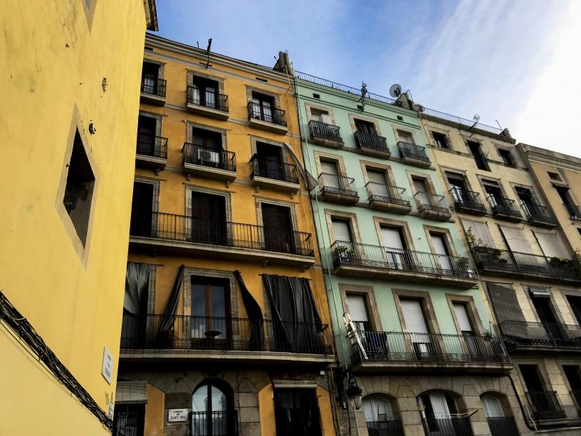 Modernist façade Barcelona