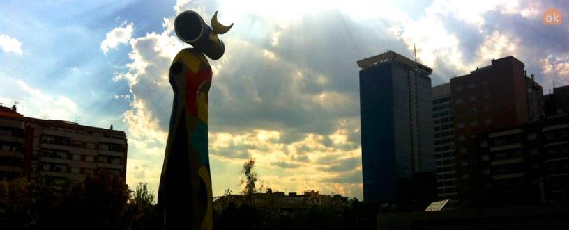 Dona i Ocell, Miró
