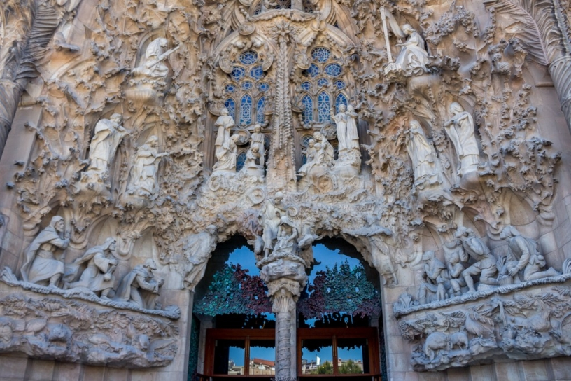 Exterior: Nativity façade