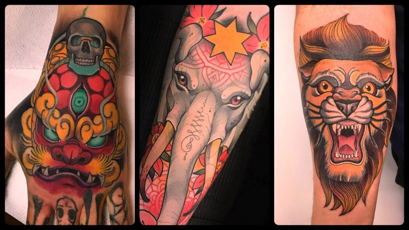 Neotraditional Tattoos