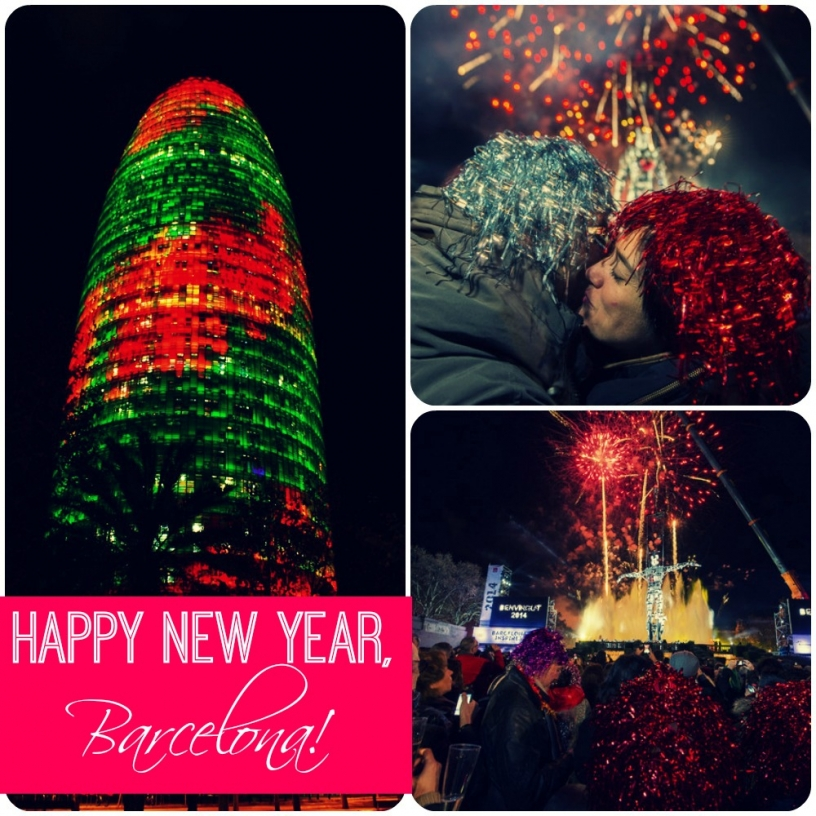 New Year's Eve Barcelona 2015
