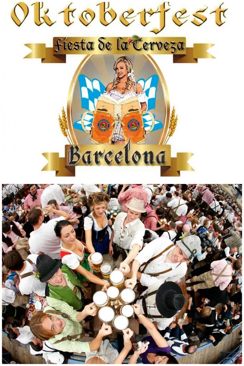 Октоберфест в Барселоне
