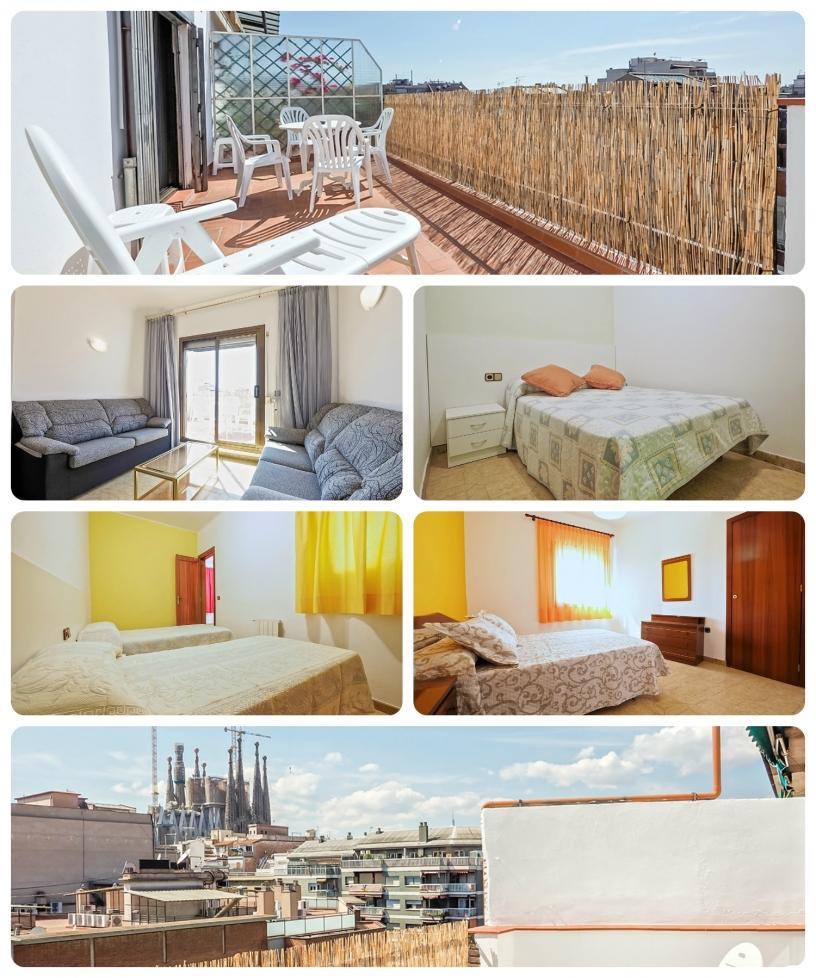 Appartamento con vista alla Sagrada Familia