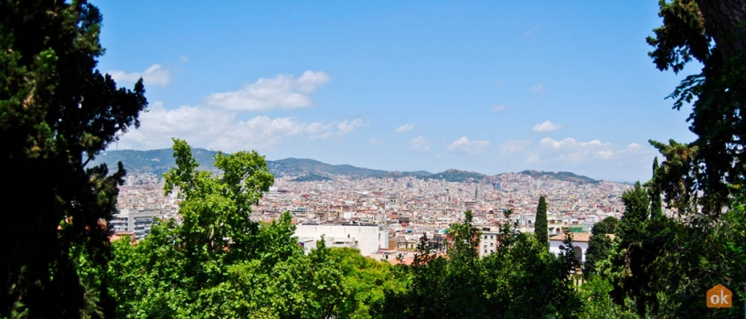 View of Barcelona from Montjuïc