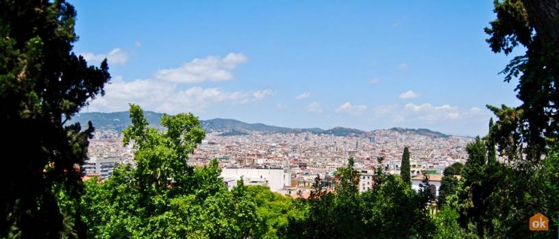 Vista de Barcelona desde Montjuïc
