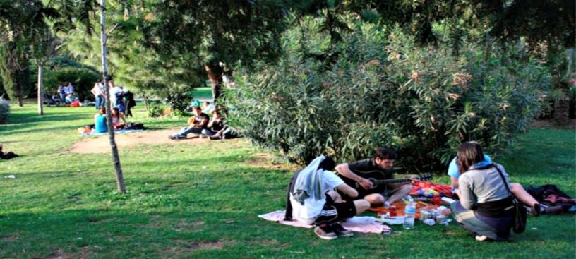 Parco della ciutadella Barcellona