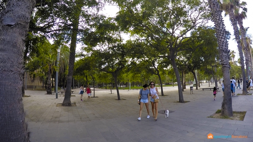 Park of la Barceloneta