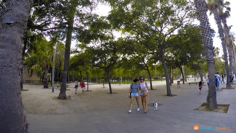 Park of la Barceloneta