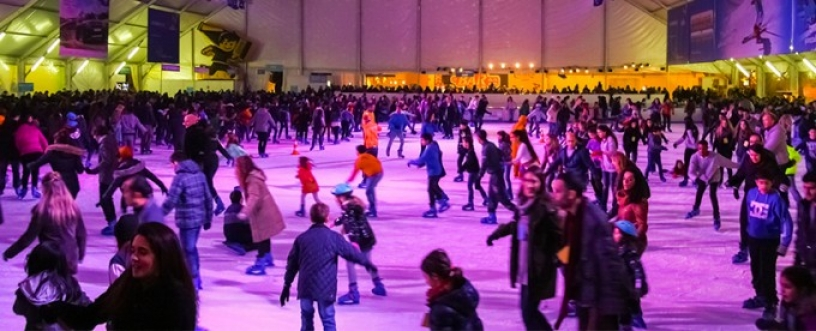 ice-skating barcelona