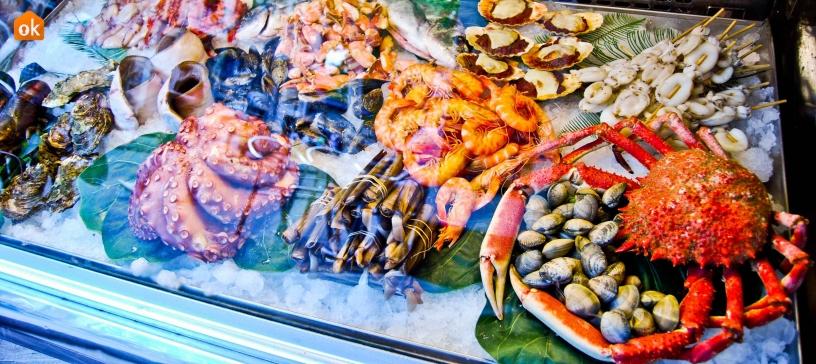 Pescado en restaurantes de Barcelona