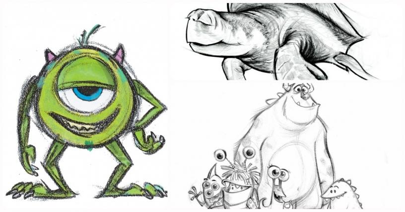 Bocetos Pixar