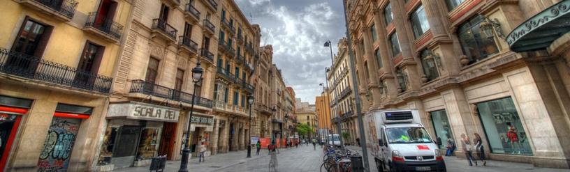 Портла Ангела в Барселоне