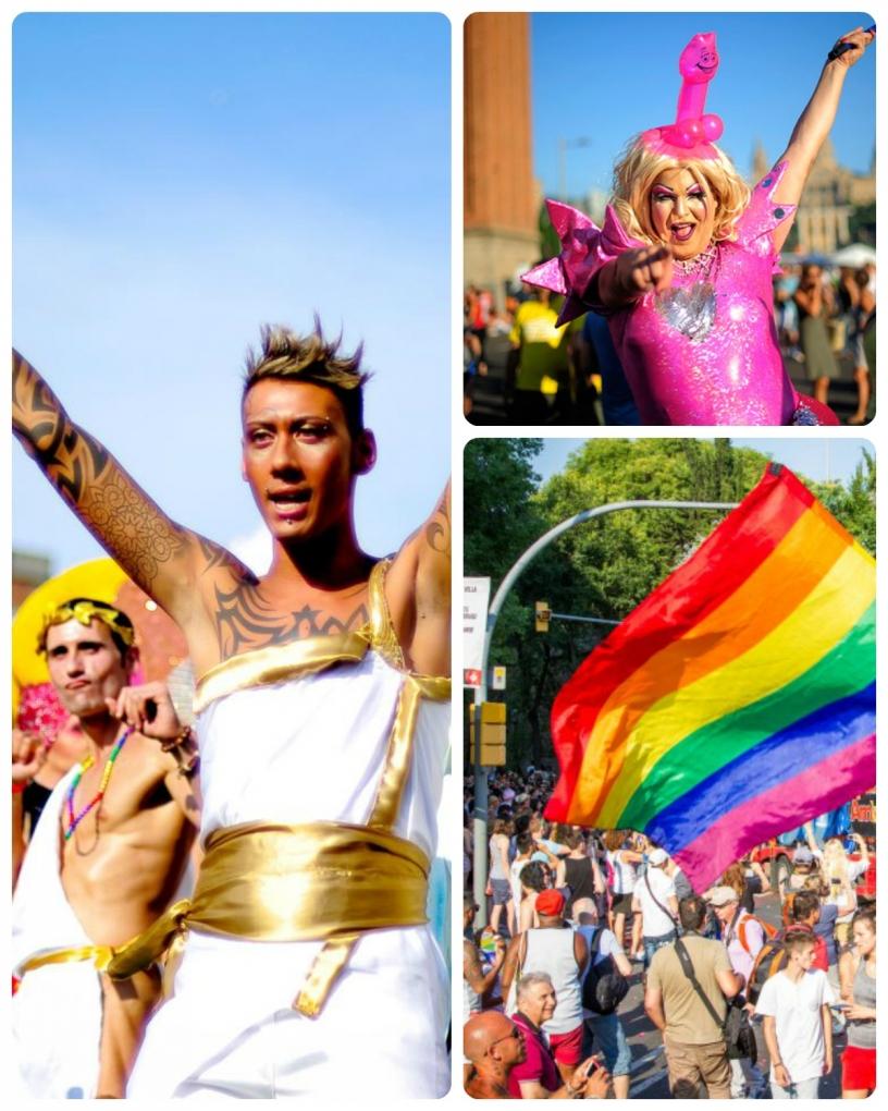 Pride parade w Barcelonie