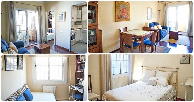 fullt utrustad lägenhet i barcelona
