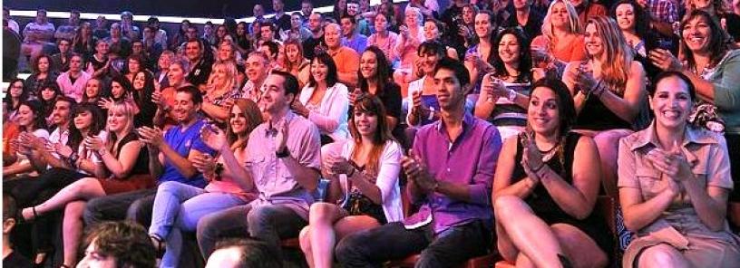 Público en un plató de TV