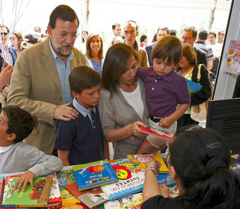 Mariano Rajoy et sa famille