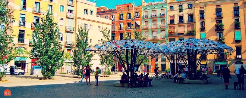 Escultura en el Raval, Barcelona