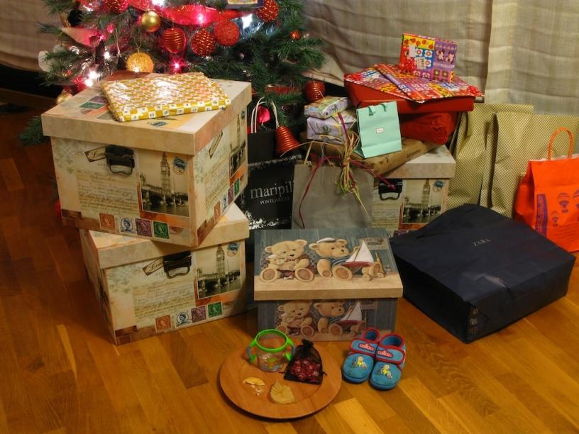 Les Rois Mages ont apporté des cadeaux!