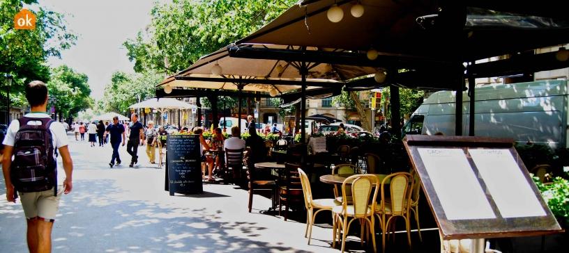 Restaurantes en la Rambla
