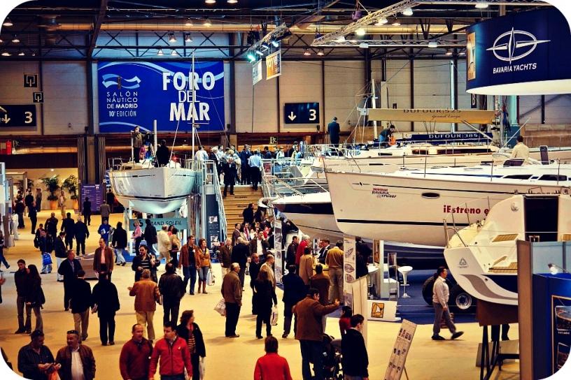 Выставка лодок Salon Nautico