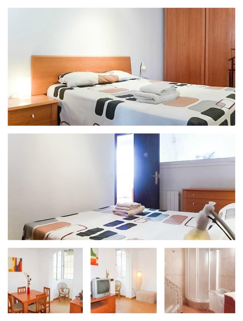 Lägenhet i Barcelona för studenter, Salva Monjuic