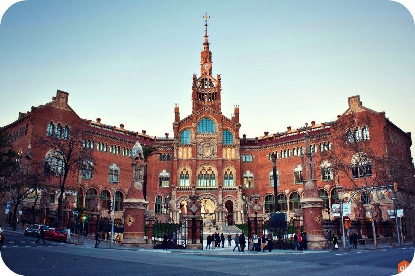 Госпиталь Сан Пау Барселона