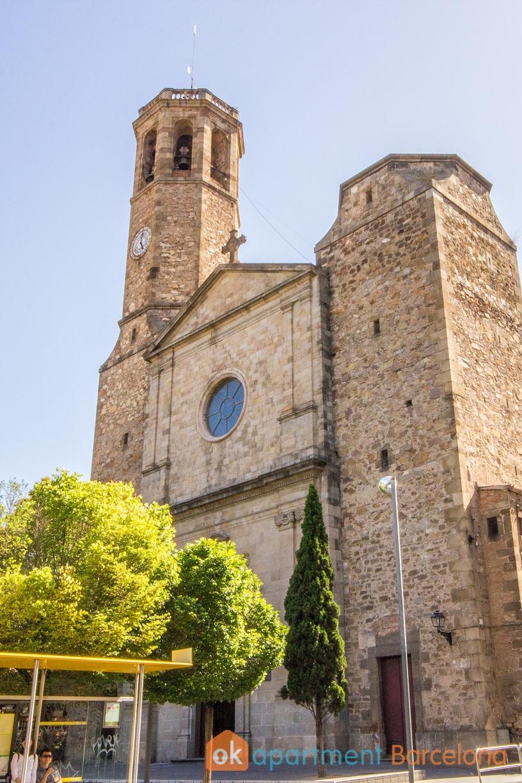 traditional church sarria sant gervasi