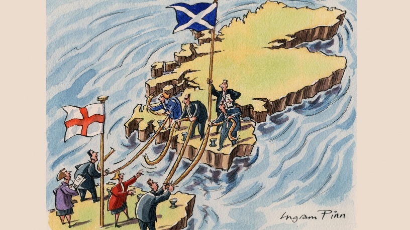 Scotland leaves the moorings