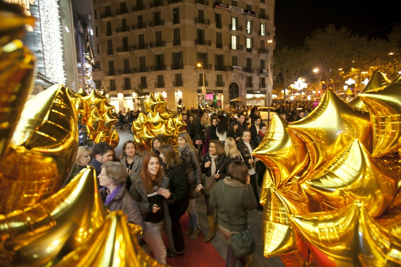 Shopping Night Barcelona nel Passeig de Gracia