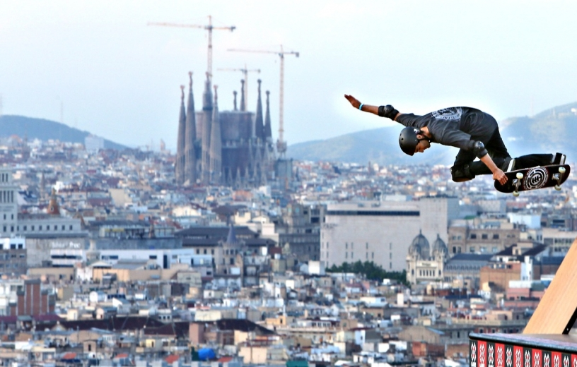 Скейт парк Барселоны