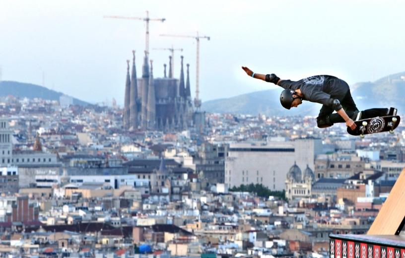 Skate park Barcelona