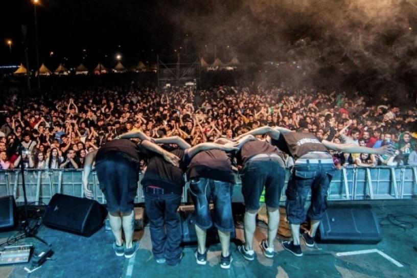 Concert at the Fiesta de Gracia