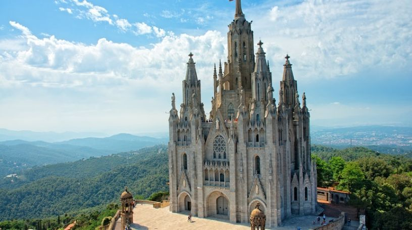 Sagrat Cor on the Tibidabo