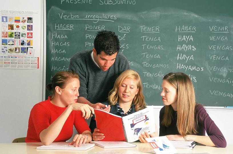 Spanish class in Barcelona