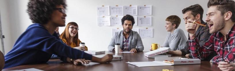 Team eines Startups