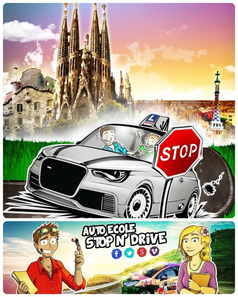 Stop 'n' Drive автошкола в Барселоне
