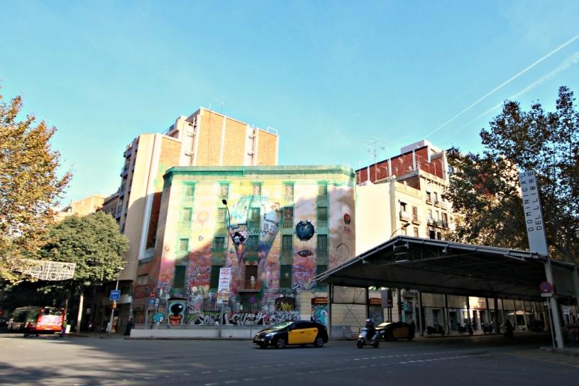 Street Art Mercat Sant Antoni