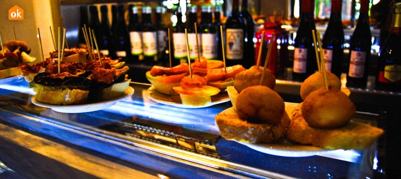 Tapas in Barceloneta