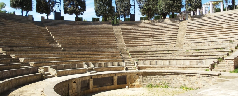 Amfiteater -Teatre Grec