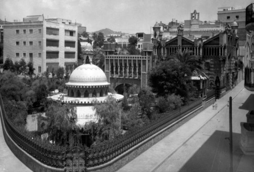 Le jardin de la Casa Vicens